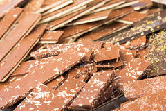 Delicius Nougat. Nougat is a typical sweet Italian handcrafted in the tradition Stock Images