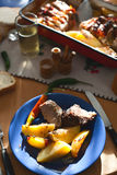 delicous γεύμα Στοκ Εικόνες