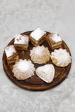 Delicous biscuits Royalty Free Stock Photography