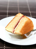 Delicous butter cake Stock Image