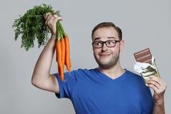Delicous carrots Stock Image