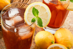 Delicous congelou o chá imagens de stock