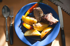 Home meal Royalty Free Stock Images