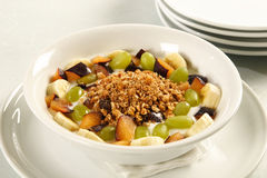 Delicous muesli. A delicious healthy bowl of muesli Stock Photo