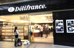 Delifrance in Hong Kong Royalty Free Stock Photos