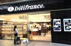 Delifrance w Hong Kong Zdjęcia Royalty Free