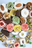 Delight. Turkish culture and Turkish delight for dessert Royalty Free Stock Image