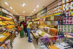 Delight shop in The Grand Bazaar Royalty Free Stock Photography