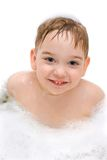Delighted in bathing Stock Photo