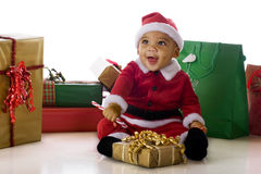 Delighted Santa Royalty Free Stock Photography