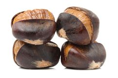 Delightful Chestnuts Stock Photography