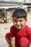Delightful little boy portrait. High Res Royalty Free Stock Photo