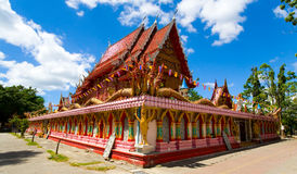 A delightful Thai temple is Wat Phra Nang Sang. Stock Images