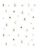 Blom- mönstra Arkivfoton