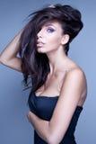 Delikat brunettkvinna Royaltyfri Fotografi