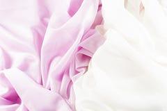 Delikat rosa silke Royaltyfri Fotografi