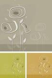 Delikat trädgård royaltyfri illustrationer