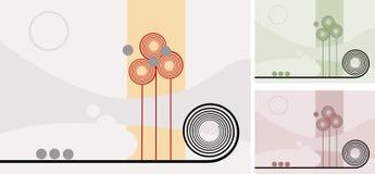 Delikat trädgård vektor illustrationer