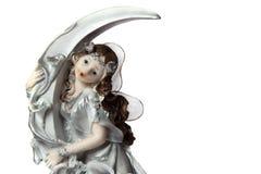 Delikatna czarodziejka na księżyc Obrazy Royalty Free