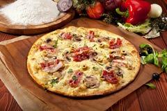 delikatna pizza zdjęcia stock