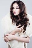 Delikatna Romantyczna kobieta Zdjęcia Stock