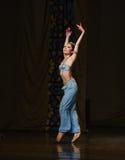 """Delikatnej i pełen wdzięku postury """"One Nights†baletniczy  Tysiąc i Jeden Obraz Stock"""