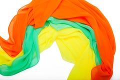 Delikatni kobiet scarves Fotografia Royalty Free