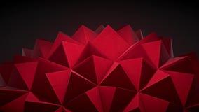 Delikatnie zaświecająca, mała gwożdżąca geometryczna abstrakcjonistyczna pętla, różnica 1 royalty ilustracja