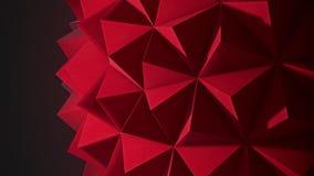 Delikatnie zaświecająca, mała gwożdżąca geometryczna abstrakcjonistyczna pętla, różnica 2 royalty ilustracja