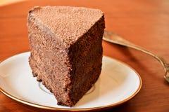 Delikatny czekoladowy tort Obraz Stock