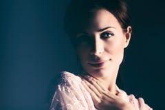 Delikatny kobieta portret Fotografia Royalty Free