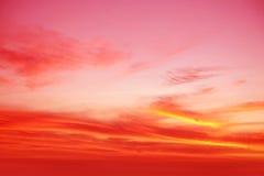 delikatny niebo Zdjęcia Royalty Free
