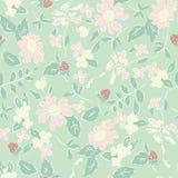 Delikatny wzór w małym kwiacie Zdjęcia Royalty Free