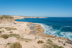 Delimara Coast in the South of Malta Stock Photo