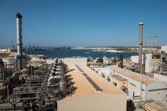 Delimara-Kraftwerk Marsaxlokk, Malta Stockfotos