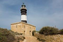 Delimara Lighthouse, Malta. Delimara Lighthouse in Marsaxlokk area, Malta islands Stock Images