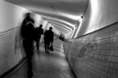Delirium EKW. Hallucinations, delirium in EKW tunnel Royalty Free Stock Photo