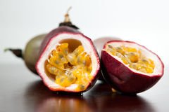 Delicious passion fruit Stock Images
