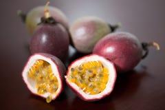 Deliscious passion fruit Stock Image