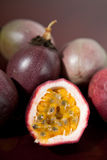 Deliscious passion fruit Royalty Free Stock Image