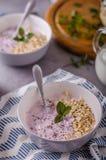 Delish healthy breakfast Royalty Free Stock Photography