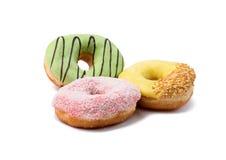 Delisious och trevliga donuts Arkivbild
