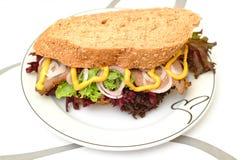 delismörgås Arkivbild