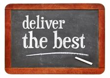 Deliver the best inspiraitonal reminder Stock Photography