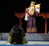 "Deliver an imperial eunuch-wealthy and influential family-Jiangxi opera ""Red pearl"" Royalty Free Stock Photography"