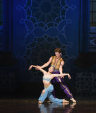 """Deliver a mermaid- ballet """"One Thousand and One Nights"""" Stock Photography"""