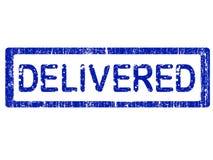 delivered office stamp Στοκ Εικόνες