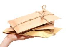 Delivering A Parcel Stock Images