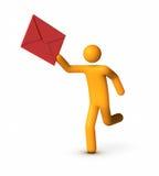 Delivering Envelope Stock Photos