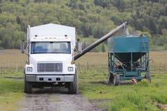 Delivering Fertilizer Stock Photos